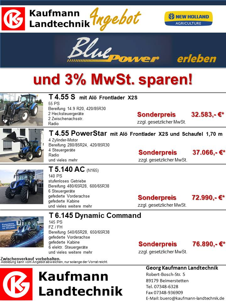 Angebot, T4, Power, Star, Schlepper